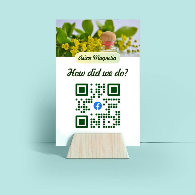 slide green qr code