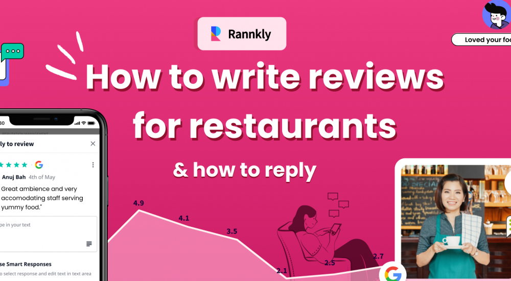 How to write reviews for restaurants and how to reply?